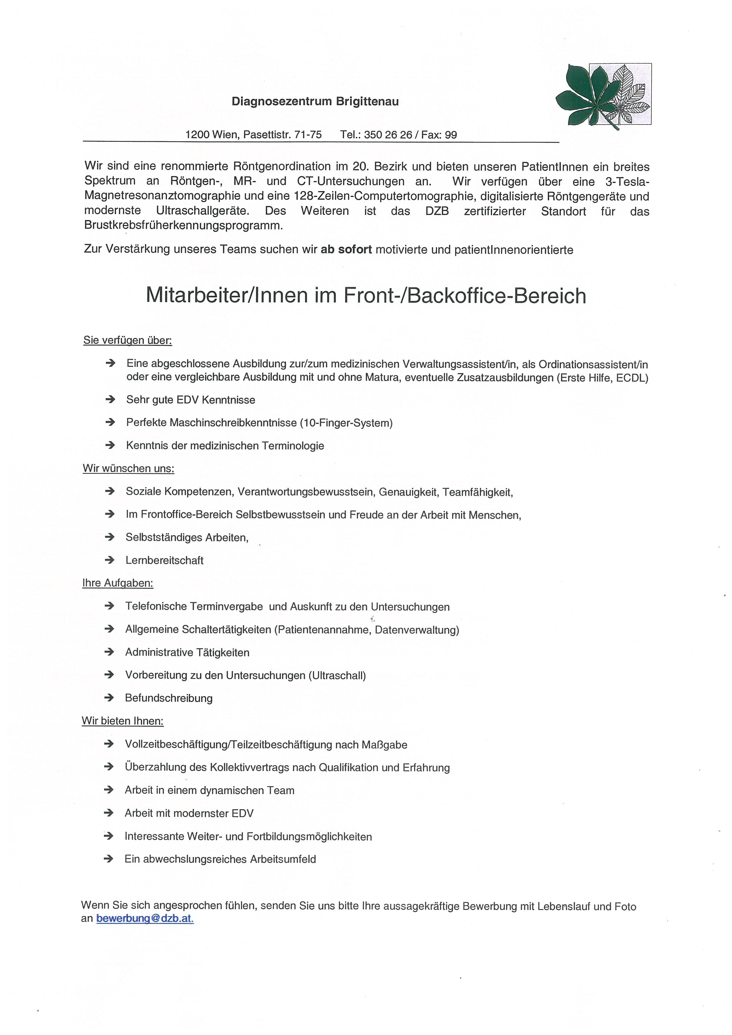 Wunderbar Medizinischer Verwaltungsassistent Lebenslauf Ohne ...