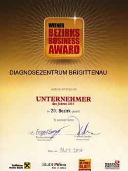 Bezirks Business Award